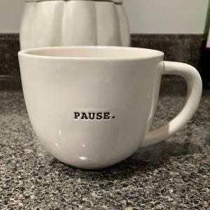Rae Dunn Pause mug